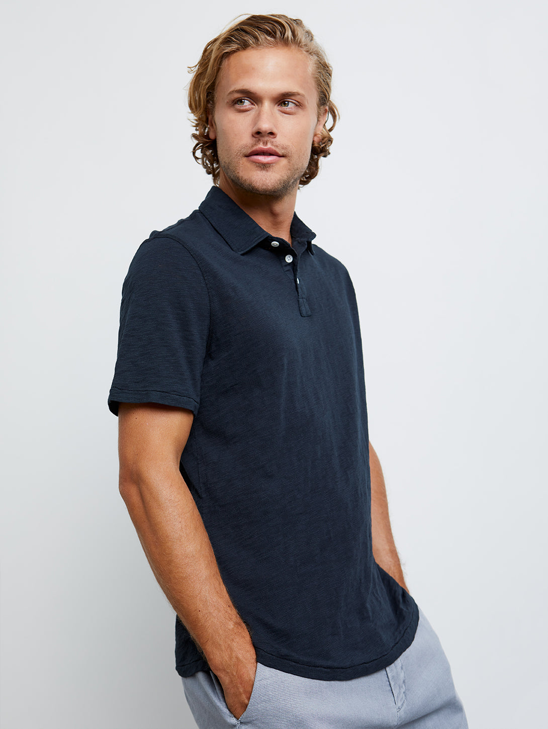 Ronan Polo Shirt - Twilight-Rails-Over the Rainbow