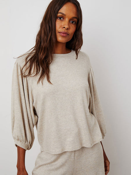 Carlana Cozy Luxe Top-Velvet-Over the Rainbow