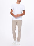 Lennox Slim Eco Pant - Clean Khaki-Paige-Over the Rainbow