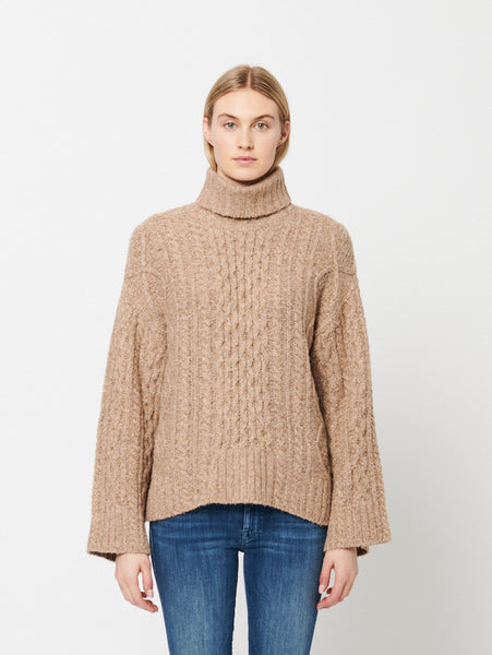 Haisley Turtleneck Sweater-LINE-Over the Rainbow