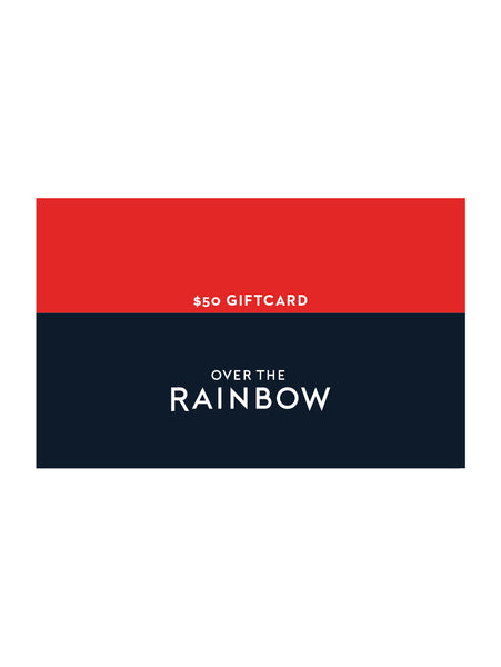 Online Gift Card - $50-Over the Rainbow-Over the Rainbow
