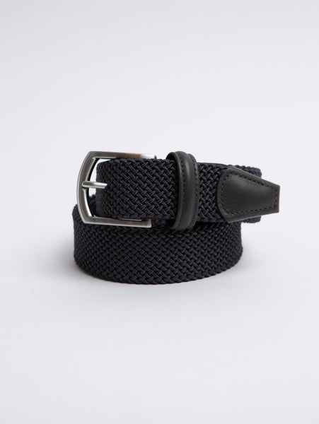 Stretch Tube Belt - Grey-Anderson's-Over the Rainbow