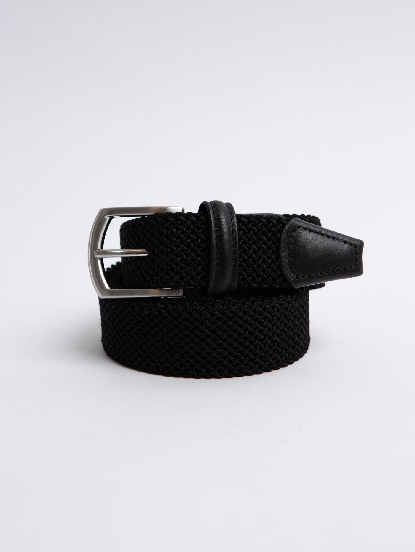 Stretch Tube Belt - Black-Anderson's-Over the Rainbow