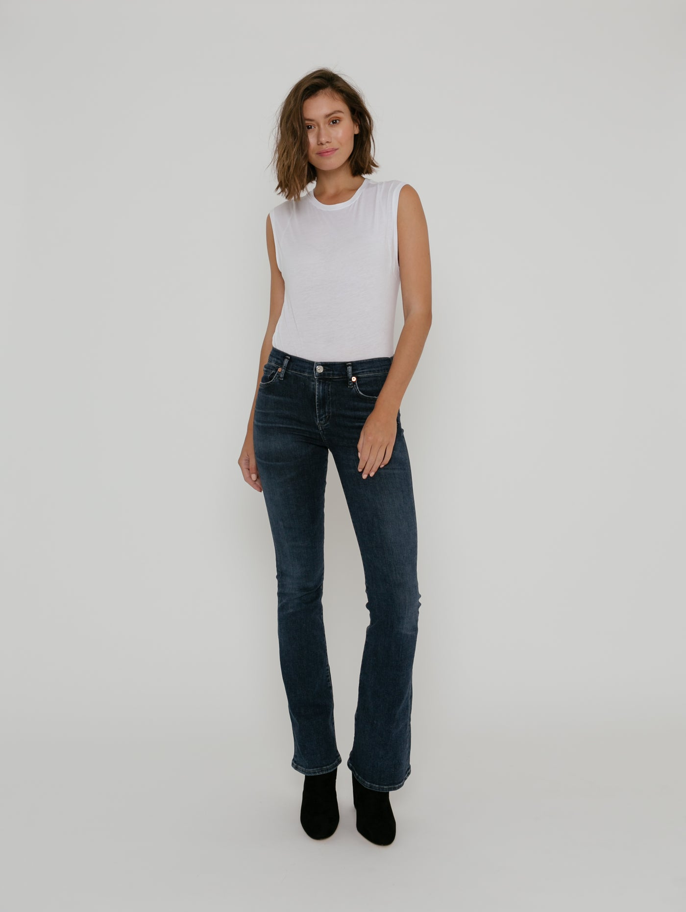 Emannuelle Slim Bootcut Jean - Alto-Citizens of Humanity-Over the Rainbow