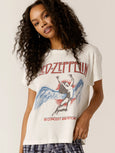 Led Zeppelin In Concert And Beyond Tour T-Shirt-DAY DREAMER-Over the Rainbow