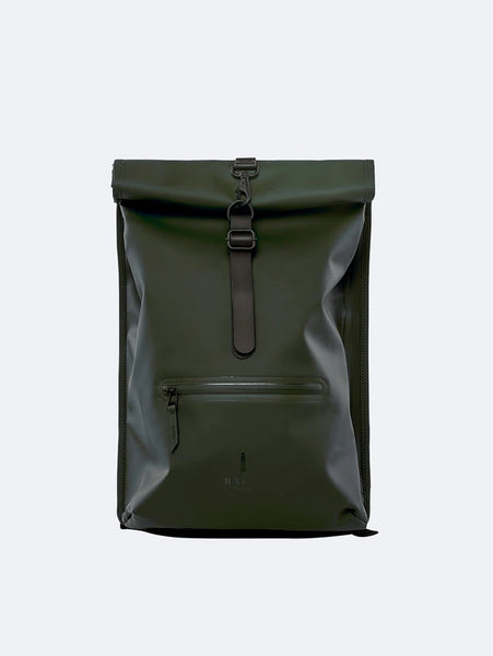 Rolltop Rucksack - Green-Rains-Over the Rainbow