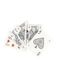 Embossed Playing Cards - Black-MISC GOODS CO-Over the Rainbow