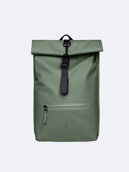 Rolltop Rucksack - Olive-Rains-Over the Rainbow
