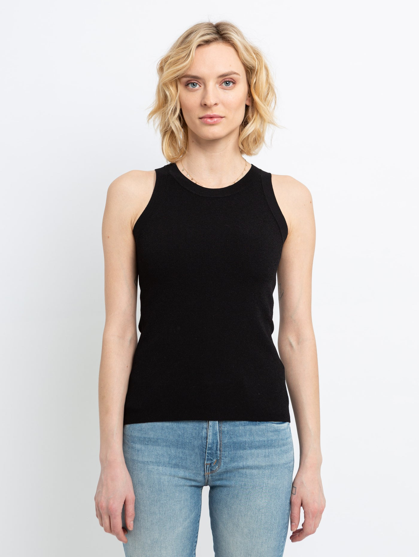 Milano Sweater Tank Top-AUTUMN CASHMERE-Over the Rainbow