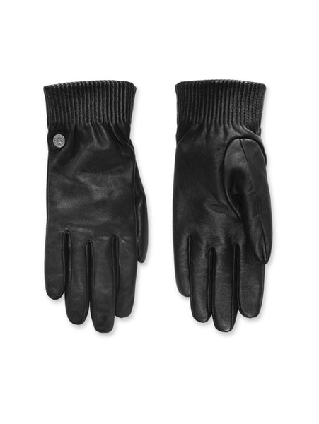 Leather Rib Gloves for Women-Canada Goose-Over the Rainbow