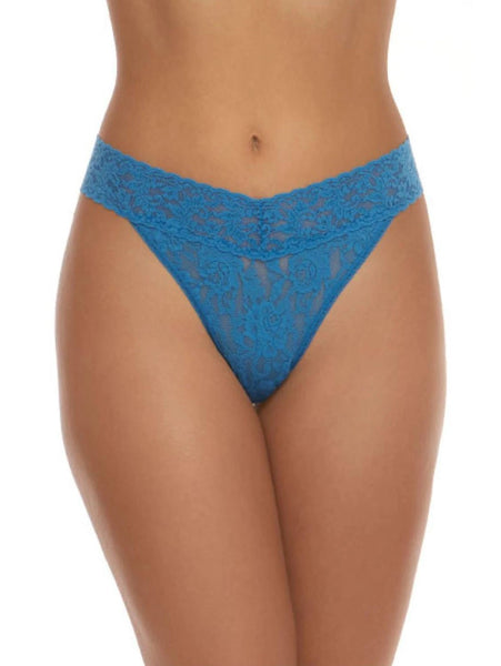 Signature Lace Original Rise Thong - Bright Tone Colours