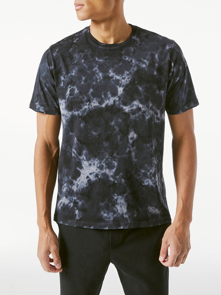 Tie Dye T-Shirt - Noir-FRAME-Over the Rainbow
