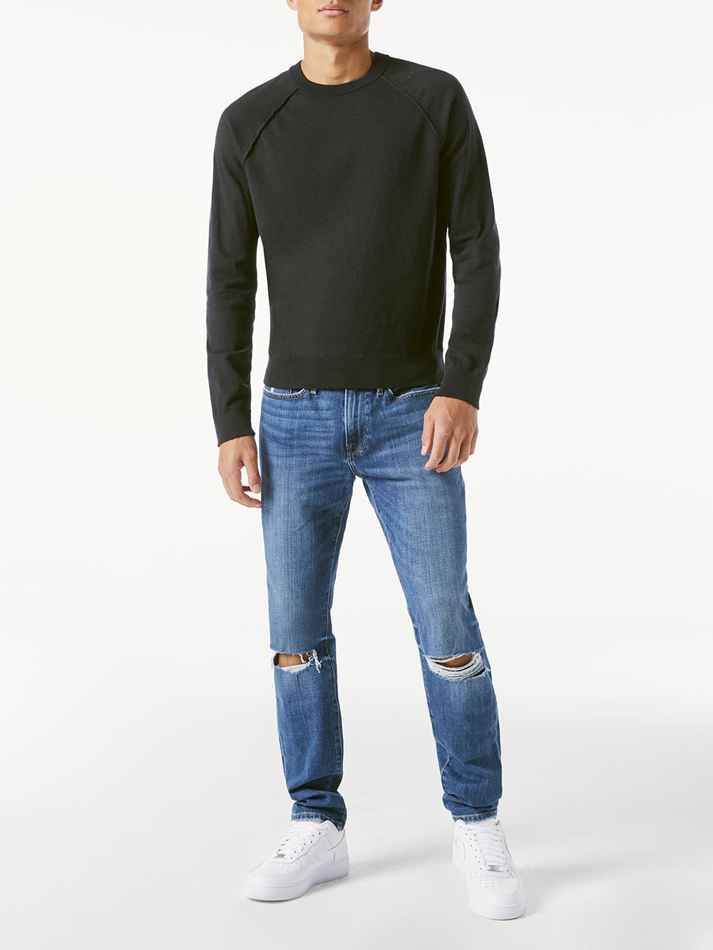 L'Homme Skinny Jean - Telluride Rip-FRAME-Over the Rainbow