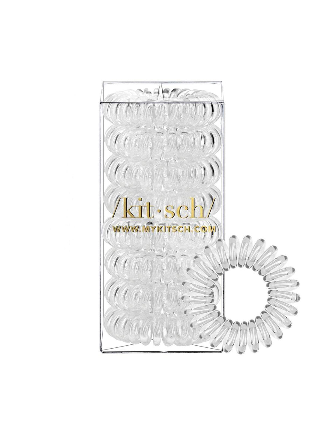 Hair Coils (8-Pack)-KITSCH-Over the Rainbow