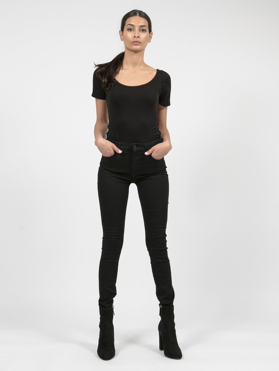 Looker High Waisted Skinny Jean - Not Guilty-Mother-Over the Rainbow