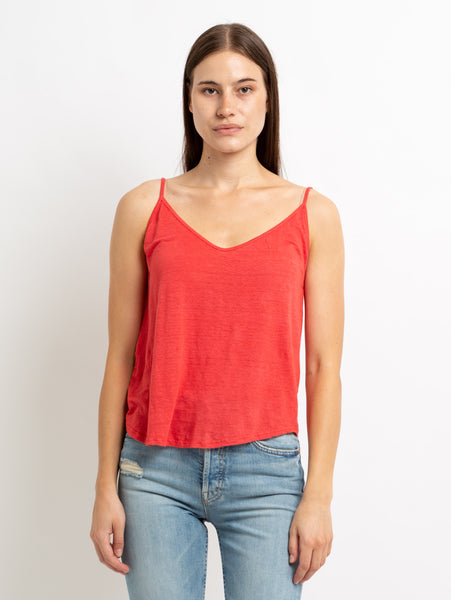 Wynette Linen Tank Top-Velvet-Over the Rainbow