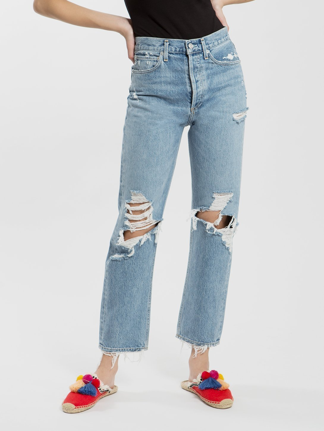 90s Mid Rise Loose Fallout Jean-AGOLDE-Over the Rainbow