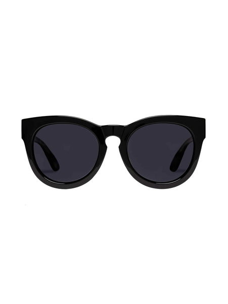 Jealous Games Sunglasses - Black-LE SPEC-Over the Rainbow