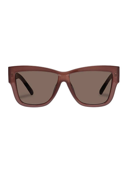 Total Eclipse Sunglasses - Cocoa Burgundy-LE SPEC-Over the Rainbow
