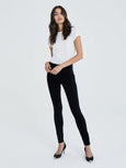 Farrah High Rise Skinny Jean - Black-AG Jeans-Over the Rainbow