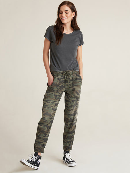 Pocket Jogger Pant - Vintage Camo-Bella Dahl-Over the Rainbow