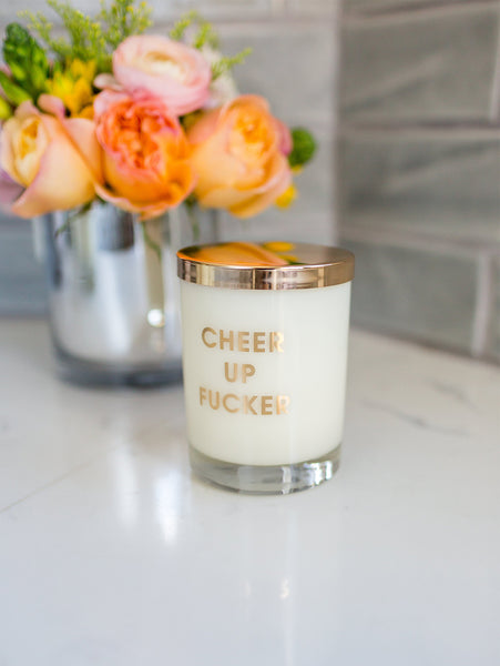 Gold Foil Candles-CHEZ GAGNE LETTERPRESS-Over the Rainbow