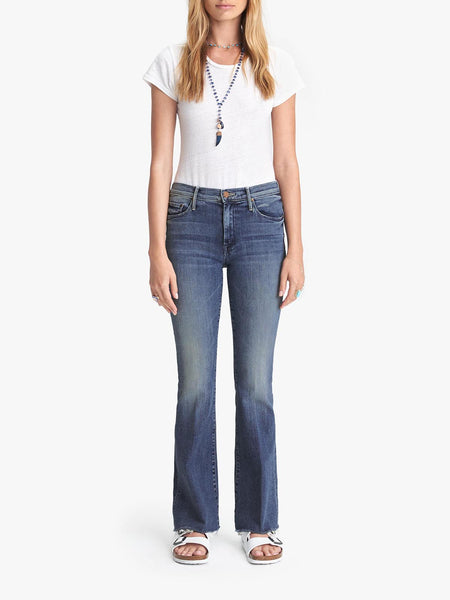 Weekender Fray Bootcut Jean - Groovin'-Mother-Over the Rainbow