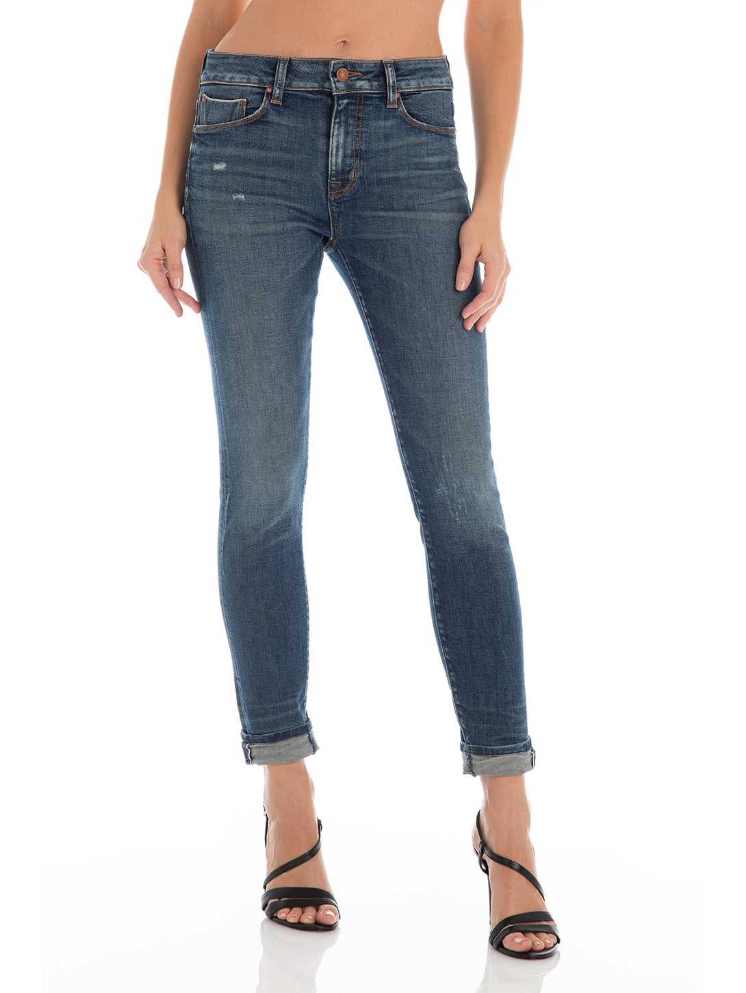Gwen High Rise Skinny Jean - Rialto-Fidelity Denim-Over the Rainbow