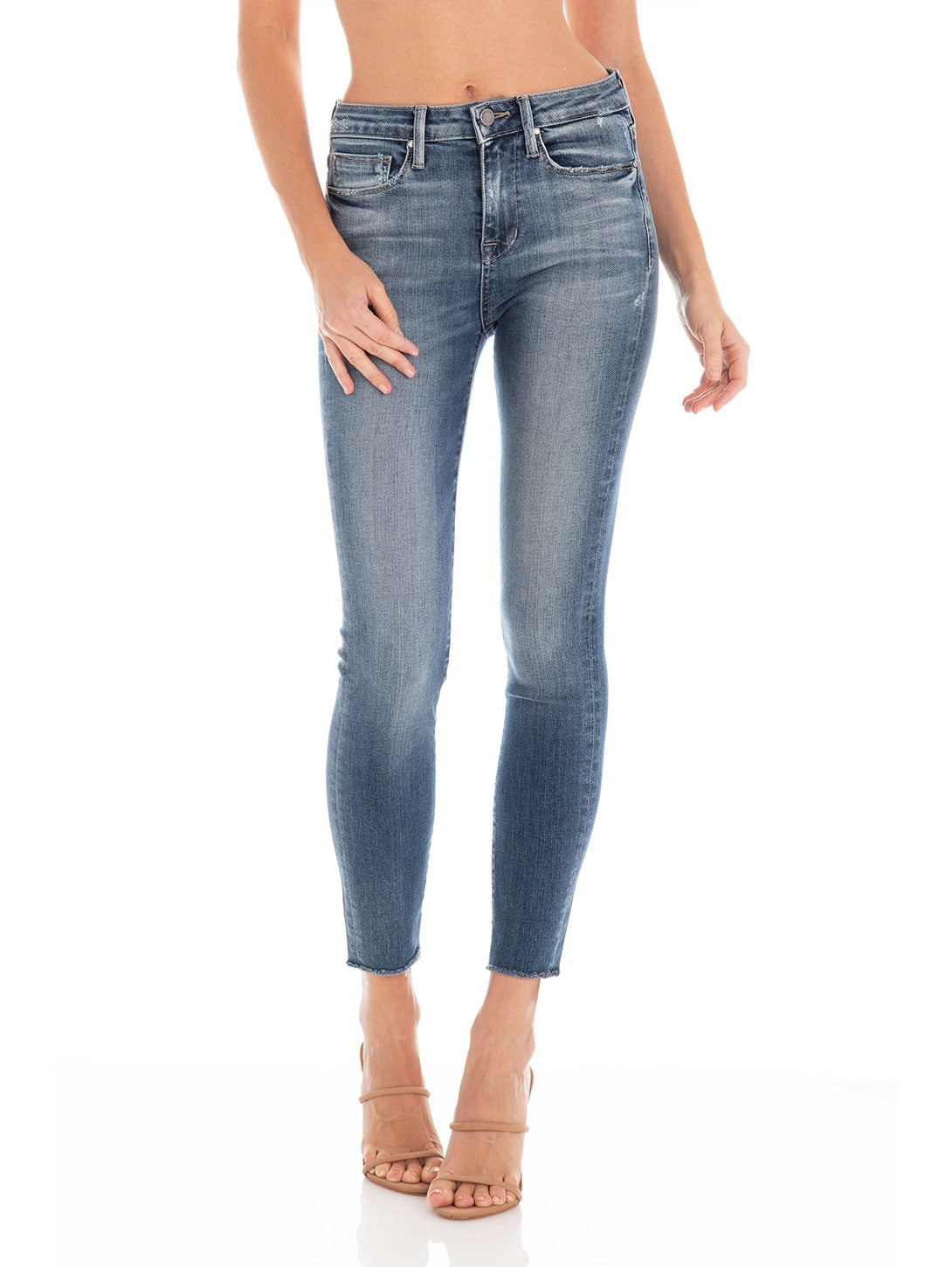 Gwen High Rise Skinny Jean - Soho Vintage-Fidelity Denim-Over the Rainbow