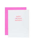Greeting Card-CHEZ GAGNE LETTERPRESS-Over the Rainbow