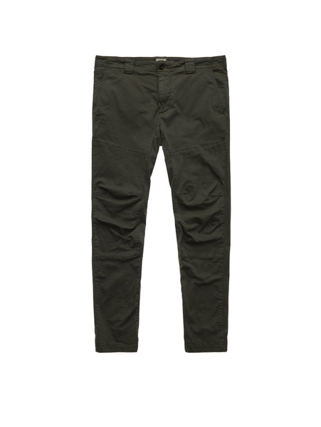 Raso Garment Dyed Stretch Sateen Pant - Ivy Green-CP COMPANY-Over the Rainbow