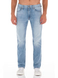 Jimmy Slim Straight Jean - Crash-Fidelity Denim-Over the Rainbow