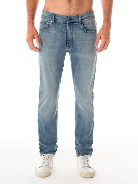 Jimmy Slim Straight Jean - Sinatra-Fidelity Denim-Over the Rainbow