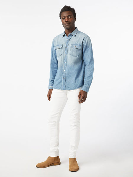 L'Homme Skinny Jean - Blanc-FRAME-Over the Rainbow