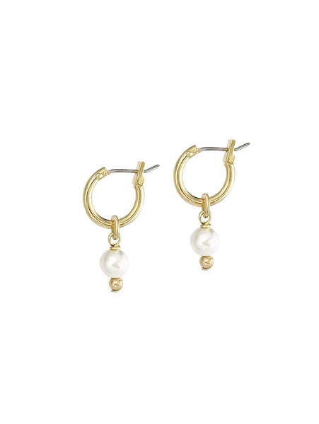 Mini 2-in-1 Pearl Loops - Ivory-BIKO DESIGNS-Over the Rainbow