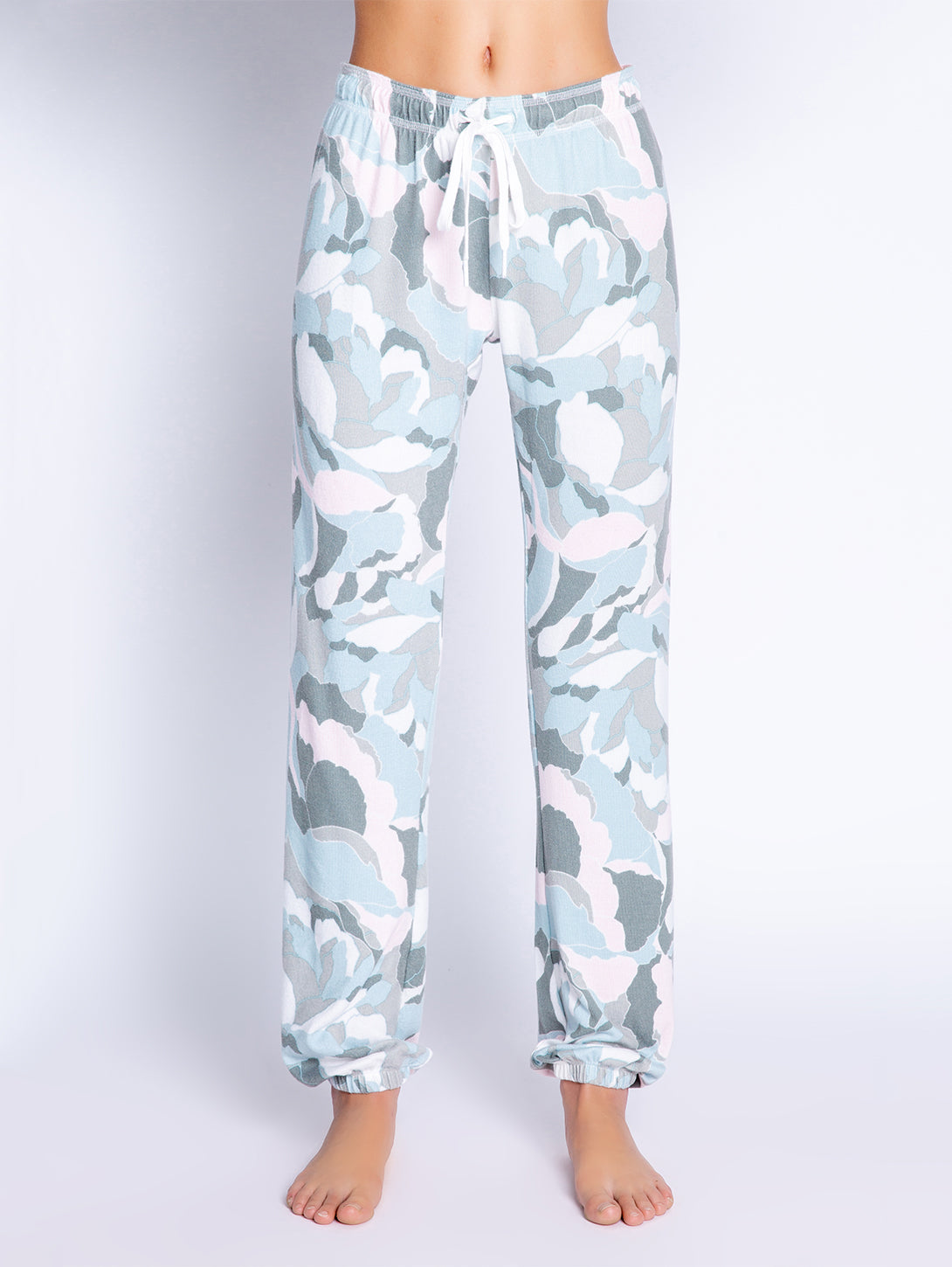 Camo Bloom Banded Pant-PJ Salvage-Over the Rainbow
