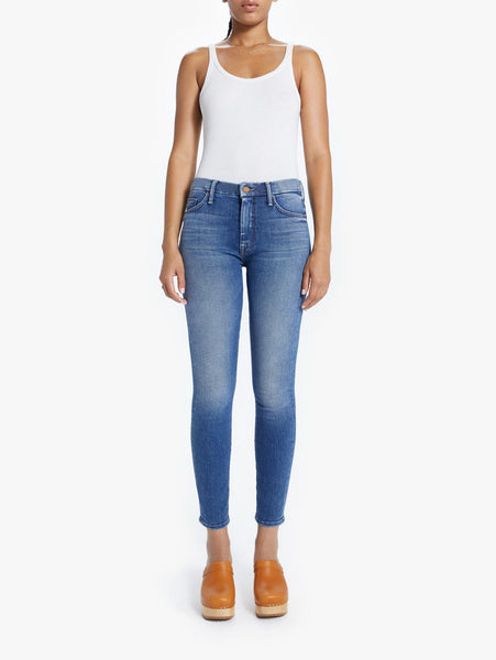 Looker High Waisted Skinny Jean - Satisfaction, Guaranteed-Mother-Over the Rainbow