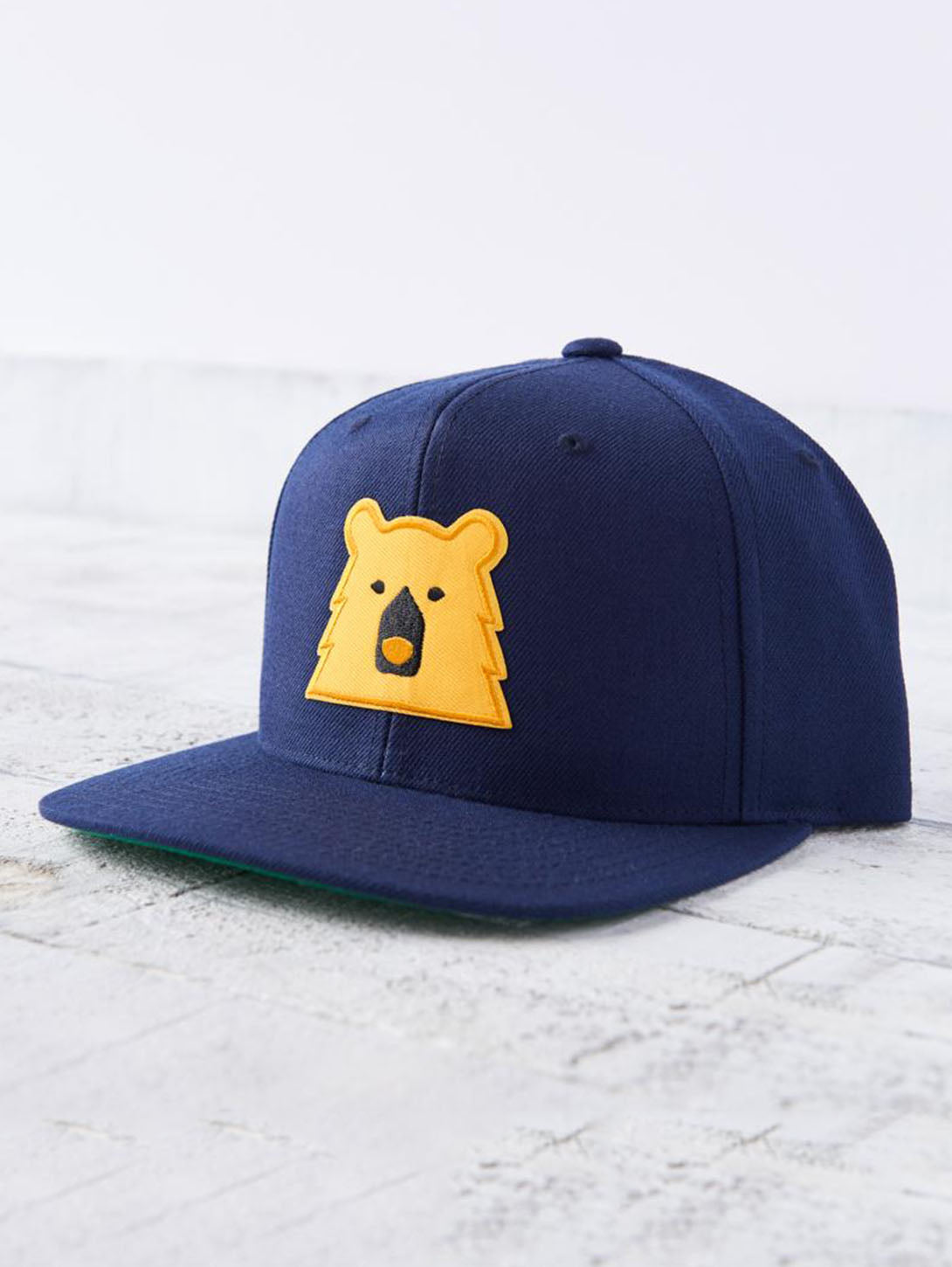 Snapback Bear Hat - Navy/Golden-North Standard Trading Post-Over the Rainbow