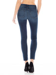 Sola Mid Rise Ankle Skinny Jean - Orchid-Fidelity Denim-Over the Rainbow
