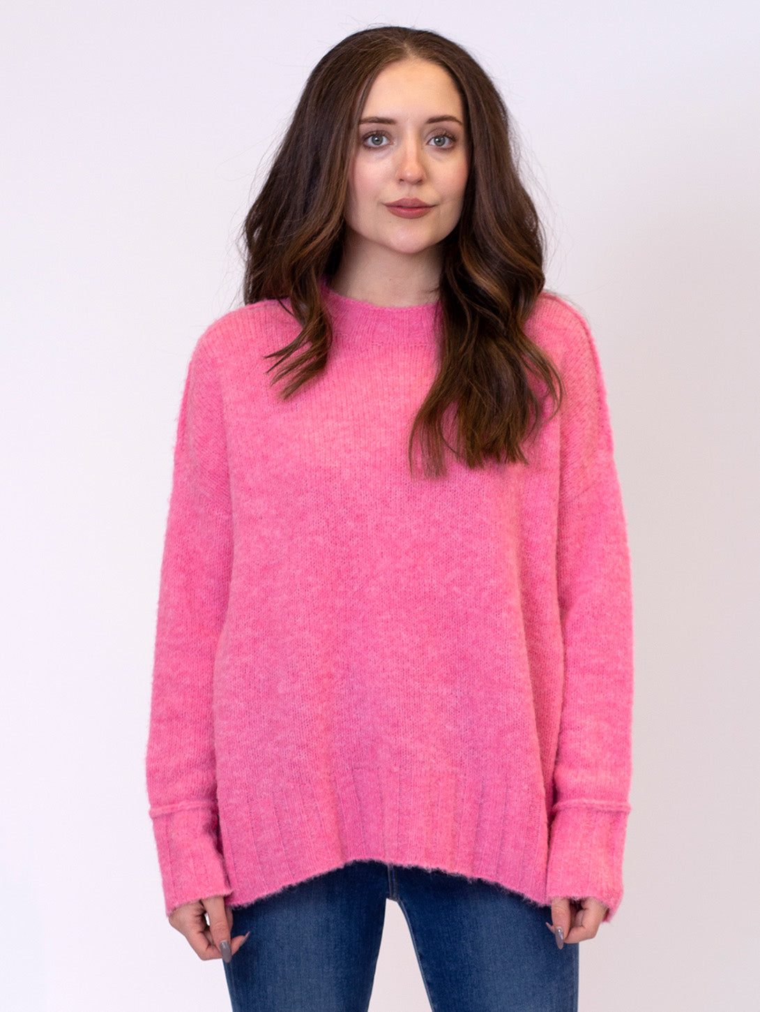 Tanya Crew Sweater-LYLA+LUXE-Over the Rainbow