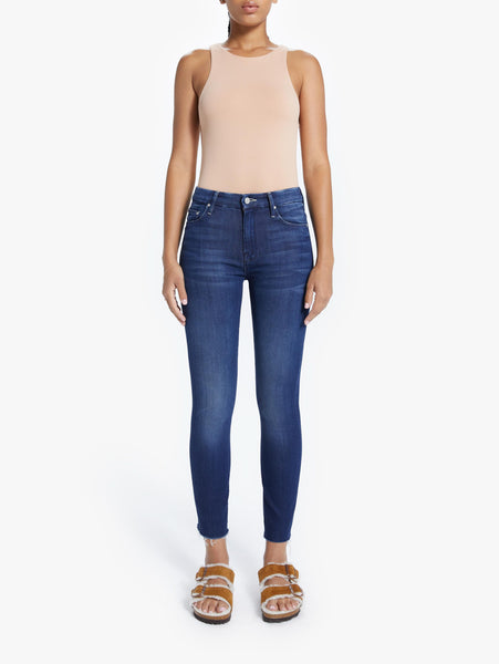 Looker High Waisted Ankle Fray Skinny Jean - Tongue In Chic-Mother-Over the Rainbow