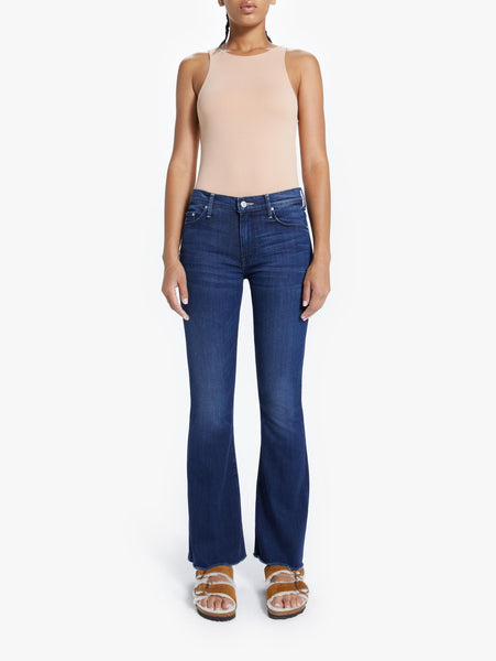 Weekender Fray Bootcut Jean - Tongue In Chic-Mother-Over the Rainbow