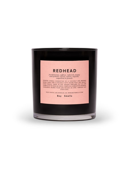 Redhead Candle-BOY SMELLS-Over the Rainbow