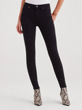 B(air) Denim High Waist Skinny Jean in Black-Seven for all Mankind-Over the Rainbow