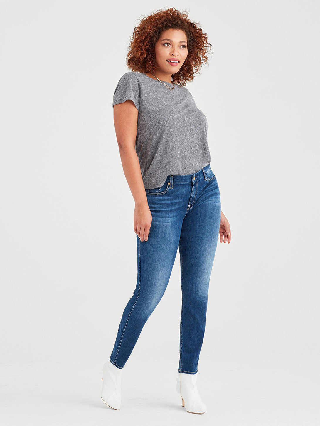 B(air) Denim Ankle Skinny Jean - Duchess-Seven for all Mankind-Over the Rainbow