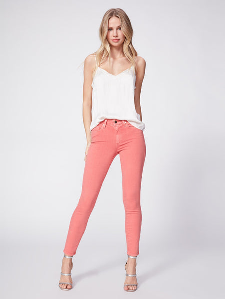 Hoxton Ankle Skinny Jean - Garnet Rose-Paige-Over the Rainbow