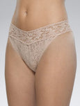 Signature Lace Rolled Original Rise Thong-Hanky Panky-Over the Rainbow