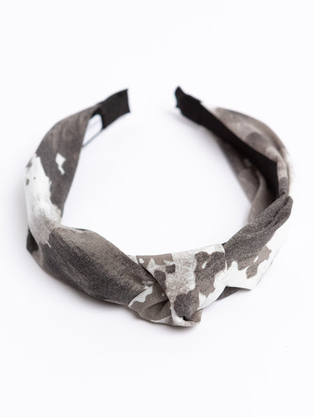Headband - Grey Camo-STYLED BY SARVI-Over the Rainbow