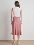 Calissa Satin Midi Skirt-Velvet-Over the Rainbow
