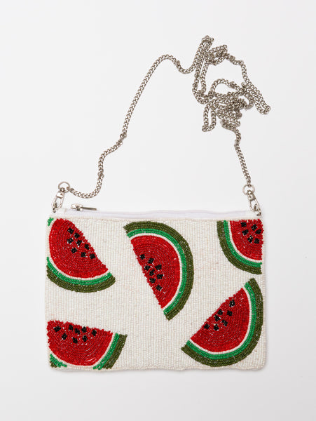 Beaded Clutch-STYLED BY SARVI-Over the Rainbow